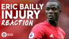 Eric Bailly Injury Reaction